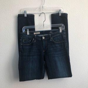AG the stilt cigarette leg stretch denim jeans 27